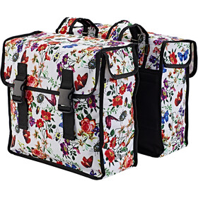 Basil Mara XL Double Pannier Bag 35l, meadow